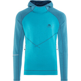 Mountain Equipment Clarion Sweat à capuche Homme, tasman/legion blue